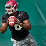 Fifth-year senior Blake Sims is 23 of 39 for 244 yards and two touchdowns during his career with Alabama.
