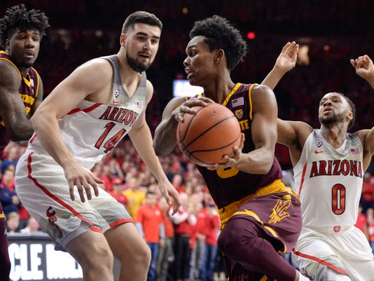 NCAA Basketball: Arizona State at Arizona