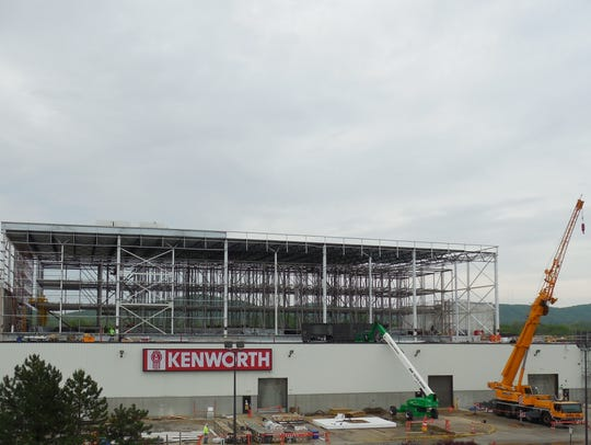 In 2016, Kenworth, a PACCAR subsidary, began construction on the outer shell of a new upward expansion at their Ohio 159 facility. The company has asked for a tax abatement to do another expansion by 2021.