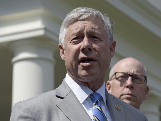 Rep. Fred Upton, R-Mich., considered seeking the GOP nomination to run against Democratic U.S. Sen. Debbie Stabenow.