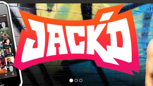 The logo of Jack'd, an online dating and chat app for gay men. According to some reports, Orlando shooter Omar Mateen used the app to message men in the months prior to the shooting.
