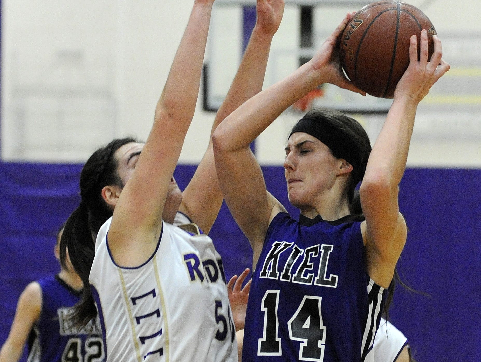 Senior Cassie Schweitzer will be one of a talented group of frontcourt players for the Raiders this season.