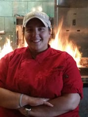 Cyndi Stanimirov was a finalist on 'Hell's Kitchen.' Now she's in charge of the grill and the rest of the kitchen at Firebirds Wood Fired Grill at Moorestown Mall.
