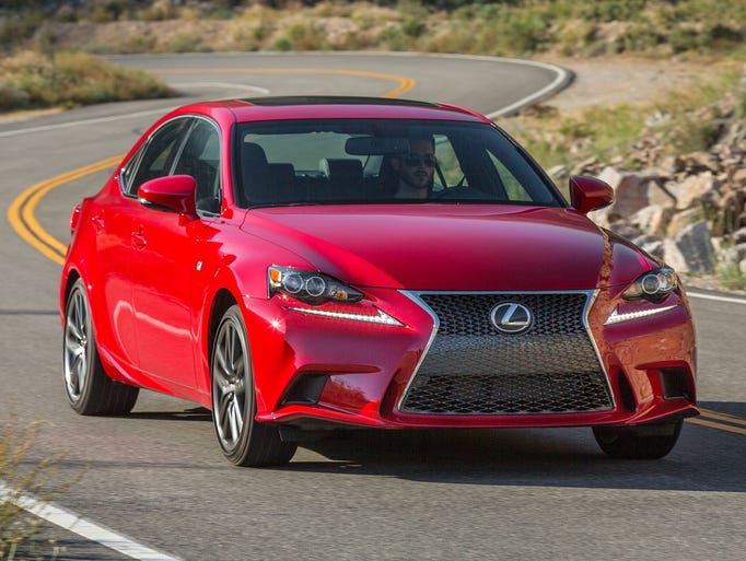 The Lexus IS adds to its stable of engines for 2016