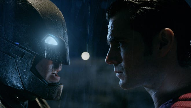 """Ben Affleck is the Caped Crusader and Henry Cavill is the Man of Steel in """"Batman v. Superman: Dawn of Justice."""""""