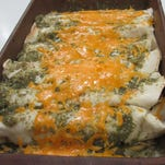 Pork Green Chili Enchiladas