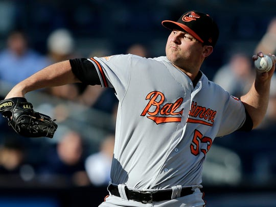 Zach Britton isn't quite sure where he'll slot into