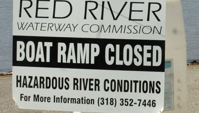 Public boat launches on the Red River are closed until further notice in Rapides, Grant, Natchitoches, Avoyelles, Caddo, Bossier and Red River parishes because of high water..