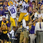 """Being a good receiver is an art,"" to LSU WR Whisperer Jerry Sullivan, who has the canvas"