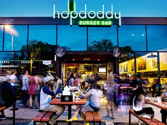 Hopdoddy Burger Bar at 1400 S. Congress Ave. in Austin,