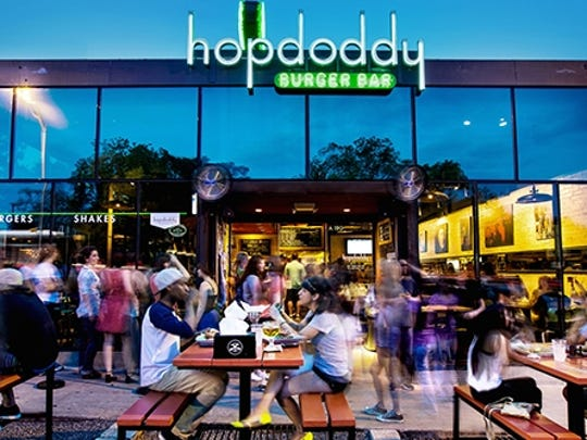 Hopdoddy Burger Bar at 1400 S. Congress Ave. in Austin, Texas.
