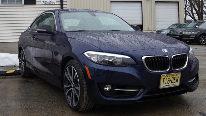 The BMW 228i comes with run-flat tires — which could save your hide.