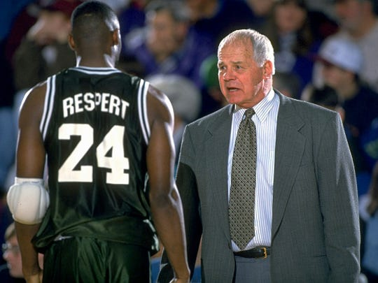 Jud Heathcote coached several great players during his 19 seasons at Michigan State. Shawn Respert, the school's all-time leading scorer, was the final one.