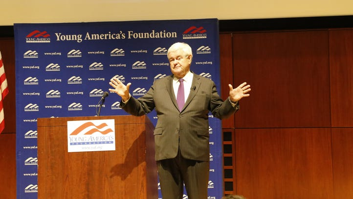 Newt Gingrich 'delighted' with Cornell appearance