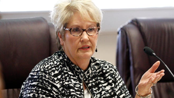 Mississippi Board of Education chairwoman Rosemary Aultman