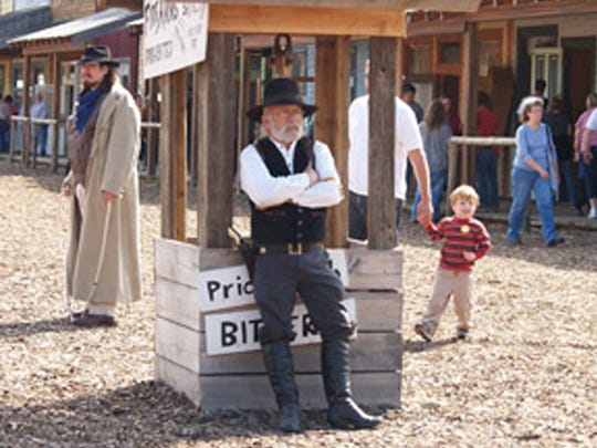 The Old West Festival returns for another year 10 a.m. to 6 p.m. Saturdays and Sundays, Sept. 9 through Oct. 15.