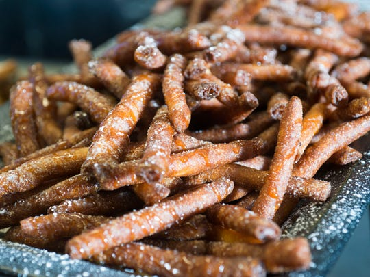 Funnel cake fries will be one of the new menu items added to the Blue Wahoos concessions menu for the 2017 season.