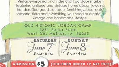 Vintage & Made Fair will be held June 7 and 8 in West Des Moines.