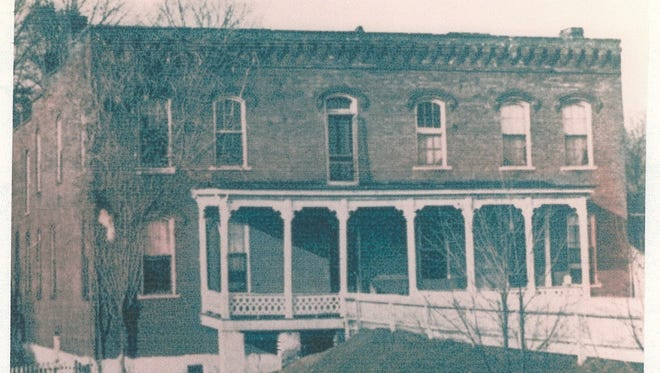 The Outlaw Hotel in Danville, Houston County.