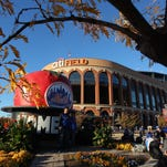 A general view of Citi Field before game three of the World Series between the Kansas City Royals and the New York Mets.