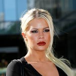 Chloe Goins who sued Bill Cosby claiming he drugged and sexually assaulted her at the Playboy Mansion in 2008.