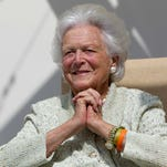 Barbara Bush's 1945 stay in Michigan: Laundry and lessons learned in Wyandotte