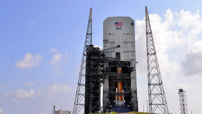 A ULA Delta IV is scheduled to launch on Thursday, but mother nature may prompt a delay