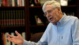 Charles Koch, chairman and CEO of Koch Industries, Inc., the second-largest private company in America. He and his brother, David Koch, are well-known contributors to conservative and libertarian political causes.