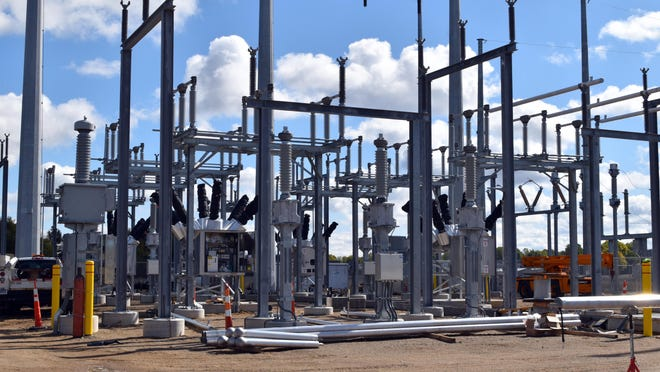 Work is underway to complete a new substation on Butters Avenue. Once completed it will be the fifth grid connection for Coldwater Board of Public Utilities to the Mincigan and interstate power grid through ITC/METC