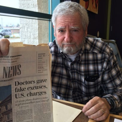"""Dr. Richard Czop wrote """"PTSD and Me"""" about his experiences in two wars he said. One was Vietnam. The other was fighting the U.S. Department of Justice."""