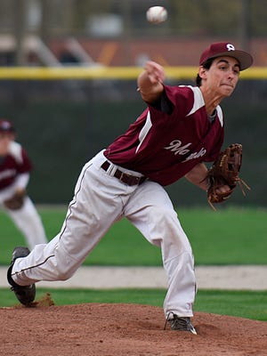 Senior Max King is part of a strong pitching staff which makes Birmingham Seaholm a team to be reckoned with this season.