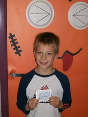 The Nasonville PTO awarded second-grader Owen Griesbach with a Target gift card for his summer box top collections. Nasonville School is hoping to earn $2,000 this school year through the box top program. Students and classrooms can earn rewards for reaching targeted amounts. Students are encouraged to keep collecting those box tops.