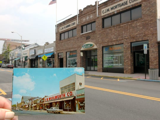 The Woolworth store in Pompton Lakes is now an office