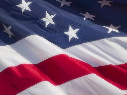 Close-up of the American Flag