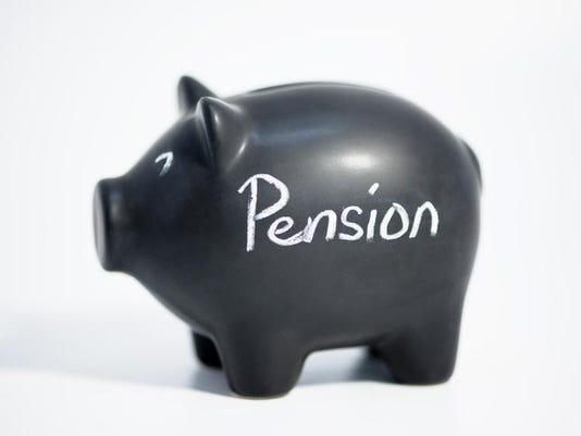 blackpiggy bank pensions