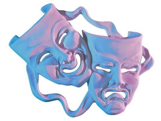 theater drama masks