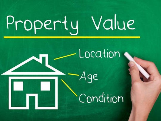 When calculating of the value of properties, you need to consider age, location and condition of the property in order to find the value of it.