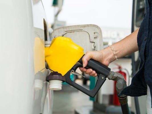 Fuel station service fill energy into your car