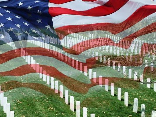 Cemetery & Flag