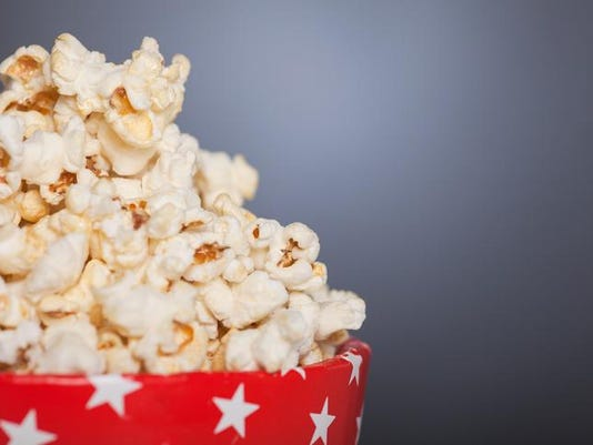 Popcorn in a red Star box
