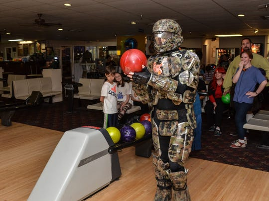 U.S.S. Continuum and the 501st Legion's Parjai Squad present the Costume Bowl supporting  Manna Food Pantries and the Gulf Coast Kid's House at Cordova Lanes. This year's event is set for May 7.