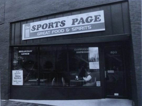 The Sports Page was located in downtown Lansing on