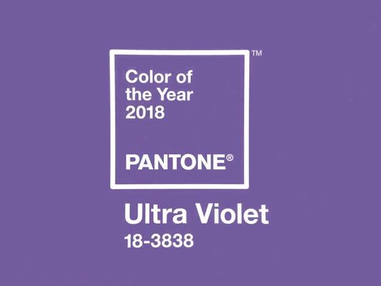 Pantone Ultra Violet Color of 2018