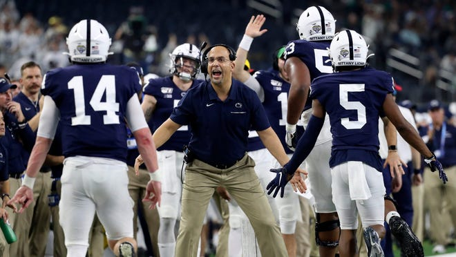 No. 7 Penn State (11-2 in 2019)