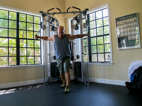 Tom Hafer is a physical therapist so fitness and preparedness