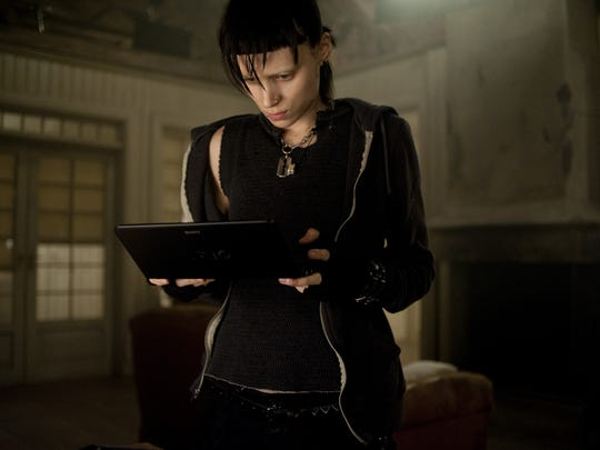 "Rooney Mara starred in ""The Girl With The Dragon Tattoo."""