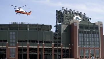 Packers install new lights at Lambeau Field