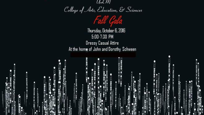ULM will host a Fall Gala Oct. 6.