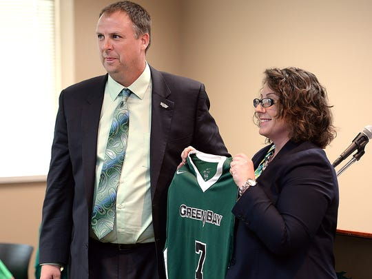 UW-Green Bay athletic director Mary Ellen Gillespie