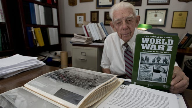 Advertising executive and local historian, John Appleyard, is working on a new book chronicling Pensacola's role during World War I.
